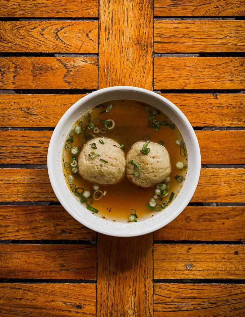 Creole Matzo Soup