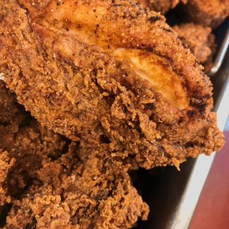 Fried chicken with crispy crunchy outside