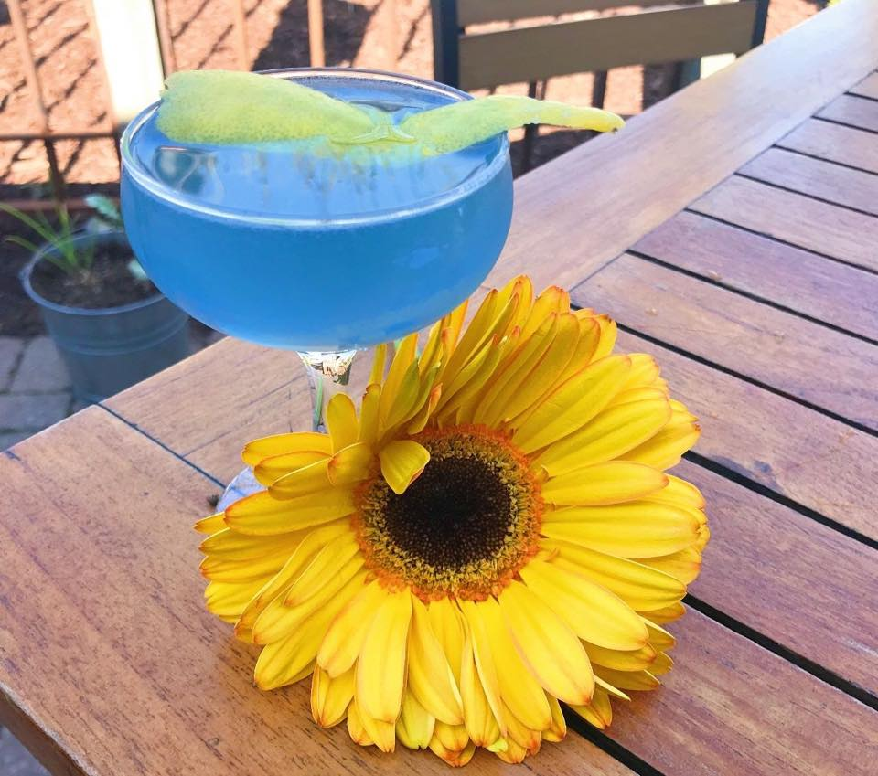 Haize and Blue Cocktail