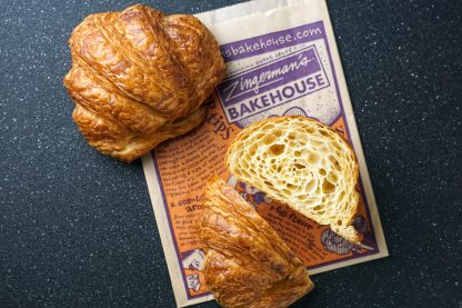 Croissant with Butter Scaled