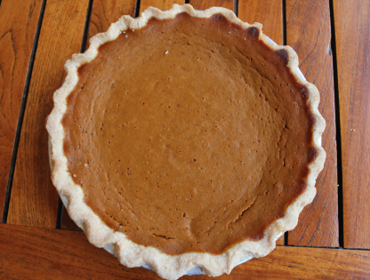 Roadhouse Pumpkin Pie