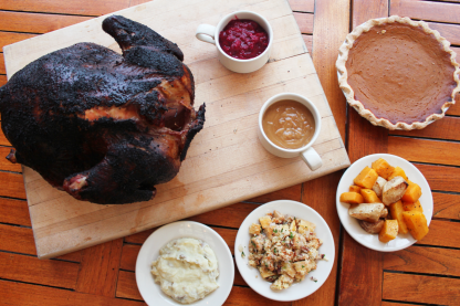 Thanksgiving Sides and Turkey